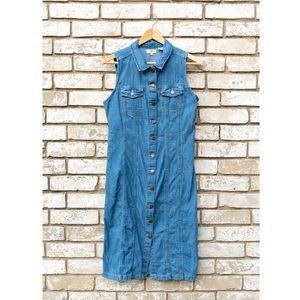 Levi's Button Front Denim Dress